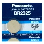 ถ่าน BR2325 Panasonic --> EXP.Date : 12-2022