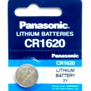 CR1620 Panasonic Lithium Battery --> EXP.Date : 12-2026