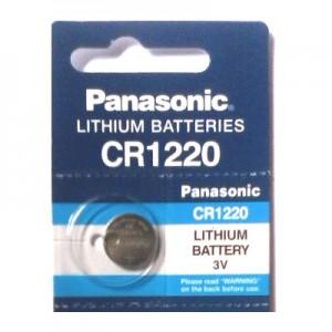 ถ่านรีโมทรถยนต์ CR1220 Panasonic 1 ก้อน EXP.Date : 06-2021