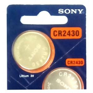 ถ่านกระดุม SONY CR2430