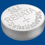 ถ่านนาฬิกา Renata 384 (เทียบเท่า SR41SW)